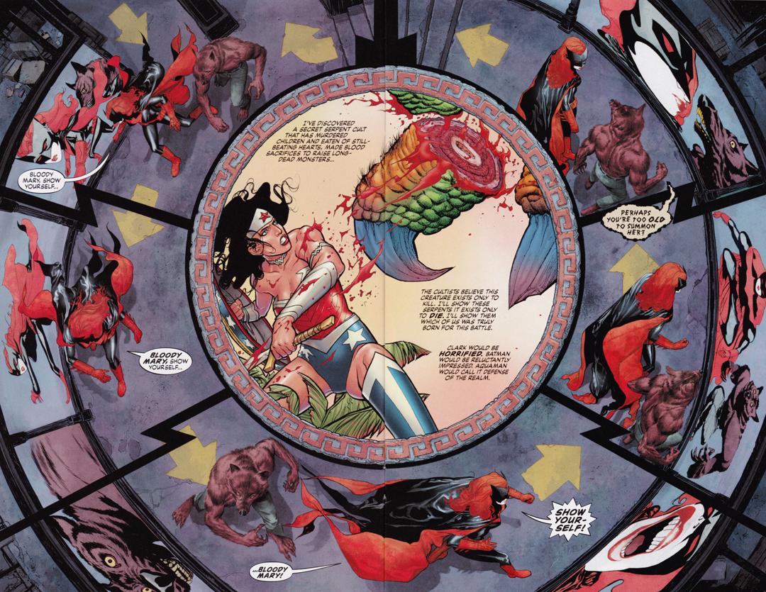 Resultado de imagem para batwoman new 52 wonder woman