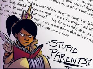Princeless - stupid parents