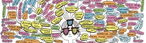 Diagram of Geek Culture, by Juliana Brion.