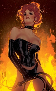 adam hughes black queen