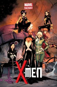 all female x-men cover