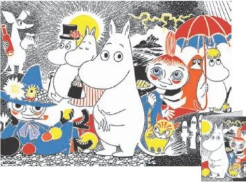 MOOMIN wrapping paper