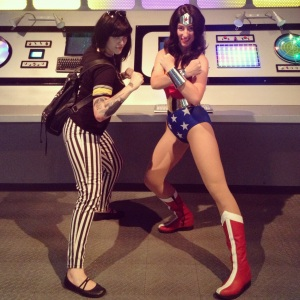 Kate Leth and Wonder Woman, Beware the Valkyries