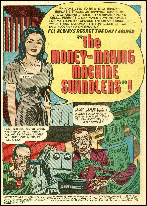 Joe Simon and Jack Kirby crime comic