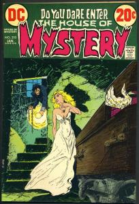 mike kaluta. the house of mystery. #. 210. cover. 001