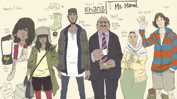 the Kahn family
