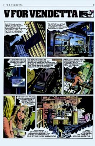 V for Vendetta page 1