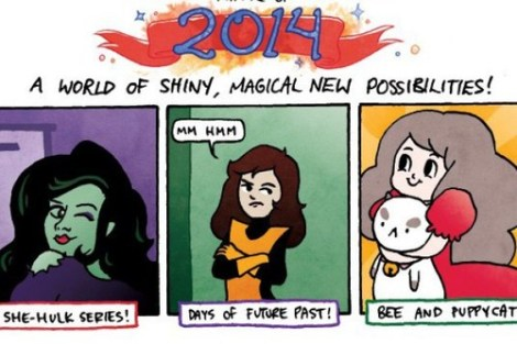 kate leth being great