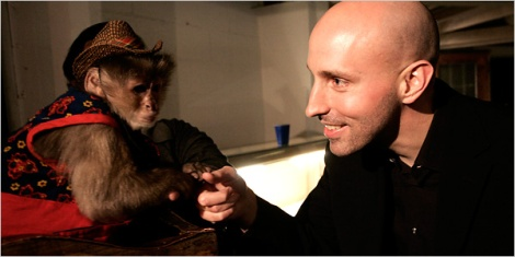 Brian K. Vaughan & Ampersand cosplayer