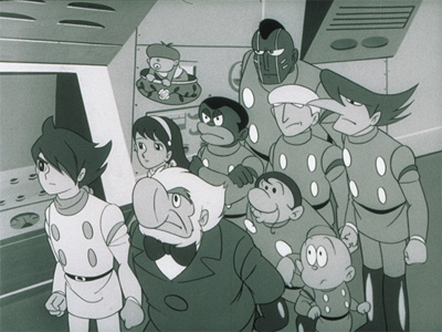 Cyborg 009 and 003 sex